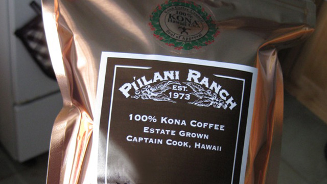 Piilani Ranch Coffee at The Ke'ei Sugar Shack